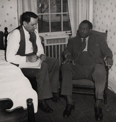 paul robeson in mather inn